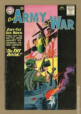 Our Army at War #134 1963 VG 4.0