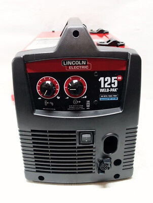 Lincoln Electric 125-Amp Weld Pak HD Flux Cored Wire Feed Welding Machine