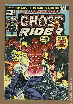 Ghost Rider (1st Series) #2 1973 VG 4.0