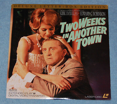 Two Weeks In Another Town Laserdisc, Complete & Tested