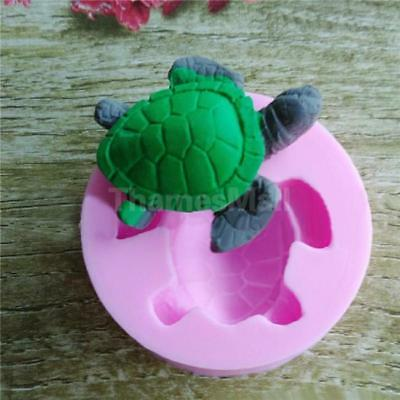 Turtle Shaped Silicone Mould Bakeware Ice Cube Mousse Fondant Chocolate Mold JD