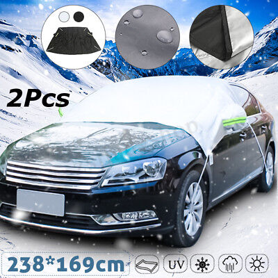 Foldable Car Windshield Visor Cover Front Block Window Sun Shade Dust Protector