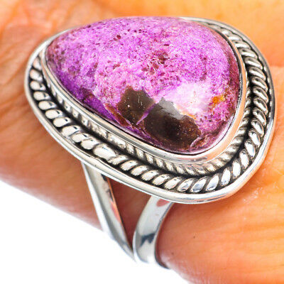 Sugilite 925 Sterling Silver Ring Size 9.25 Ana Co Jewelry R921765F