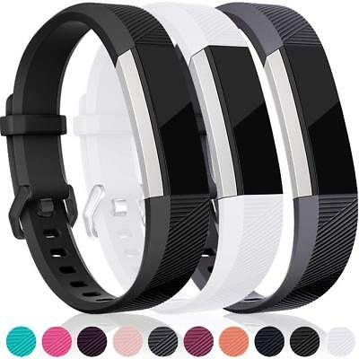 Replacement Bands Compatible Sport Strap for Fitbit Alta HR/Alta/Ace 3-Pack