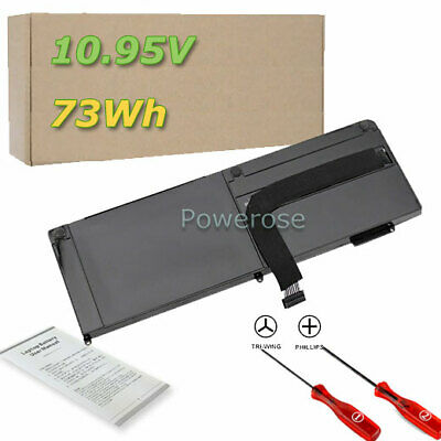 "73Wh Battery Apple MacBook Pro 15"" inch Unibody A1382 MC721LL/A MC723LL/A"