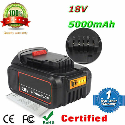 Dewalt Replace 18V 5.0ah Battery DCB184 For DCD795, DCD885, DCS331, DCS3391