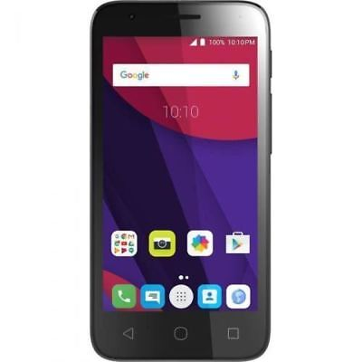 "Alcatel One Touch Pixi 4 4"" 4034X 4GB Black/White Unlocked Smartphone - Warranty"