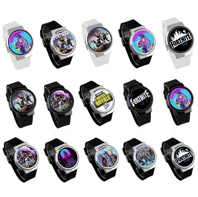 Fortnite Game Touch Screen Wrist Watch Luminous Kids Childrens Xmas Gifts UK