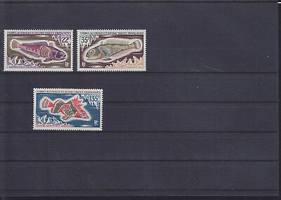 068803 Fische Fish TAAF 68-70 ** MNH Year 1971
