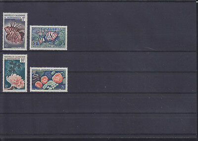 068808 Fische Fish Nouvelle Caledonie 364-67 ** MNH Year 1959