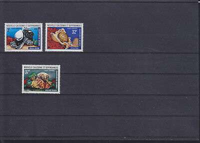 068816 Fische Fish Nouvelle Caledonie 547-49 ** MNH Year 1974