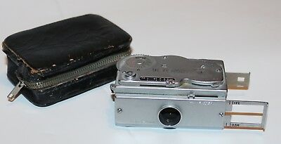 Rare Vintage Subminiature Tower-16 Camera And Case