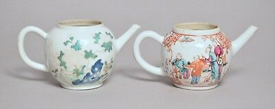Two Good Antique 18Thc Chinese Porcelain Teapots