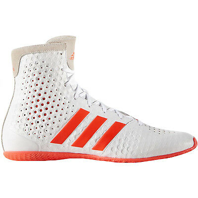 adidas Performance Mens KO Legend 16.1 Lace Up Sports Boxing Shoes - White/Red