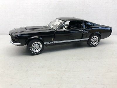 1:18 Ertl American Muscle 1967 Ford Shelby Mustang GT-500 in Black Item # 36421