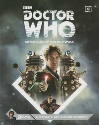 Dr Who Eighth Doctor Sourcebook by Cubicle 7 9780857442482 (Hardback, 2014)