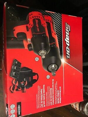 """snap-on 18v monsterLithium cordless tool set 1/2"""" impact & 3/8"""" with extras"""