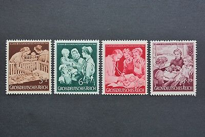 1944 MNH** German Stamps-Third Reich. 10th Anniversary of Mother and Child Aid
