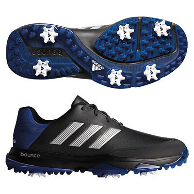 Adidas Men's Adipower Bounce Golf Shoes Size: 10.5 M Carbon/silver/royal 19158