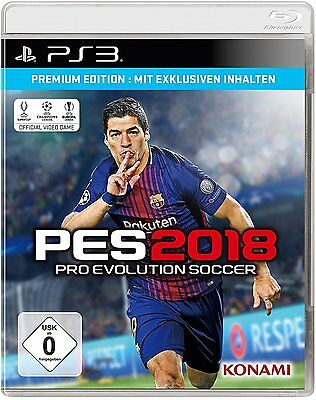 Sony PS3 Playstation 3 Spiel * PES 2018 * Pro Evolution Soccer 18 *******NEU*NEW