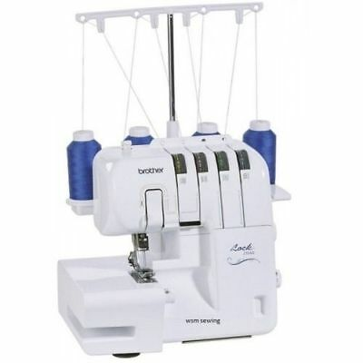 Brother 2104D Overlocker 3/4 Thread +  3 Extra Feet+ Free Uk Delivery + Dvd