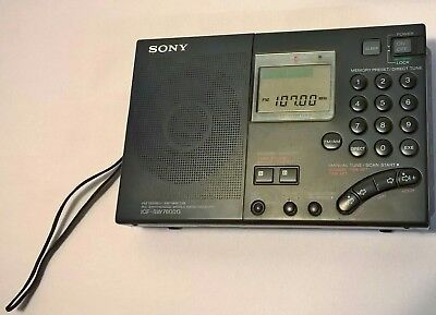 Sony ICF-SW7600G World Band Receiver FM Stereo SW/MW/LW Radio