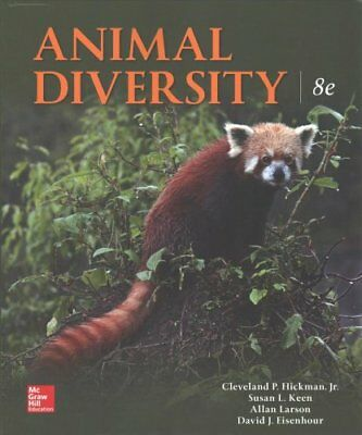 Animal Diversity by Larry S. Roberts 9781259756887 (Paperback, 2018)
