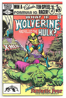 What If ? Vol 1 # 31 Marvel Comics 1982 What If Wolverine Had Killed the Hulk?