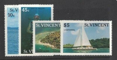 1988 St. Vincent Tourism SG 1133/6 MUH Set 4