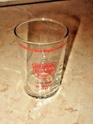 Vintage Heilemans Old Style Beer A.c.l. Glass Variation #2