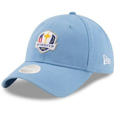 49a07aba491 NEW ERA HEATHERED Gray 2018 Ryder Cup USA 9FIFTY Adjustable Snapback ...