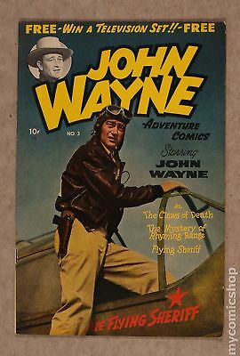 John Wayne Adventure Comics #3 1950 VG 4.0