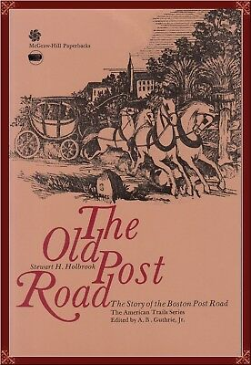 Boston, Massachusetts! The Old Post Road! Complete History! Oop