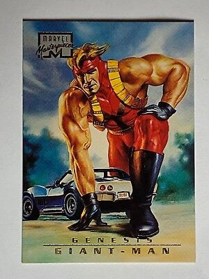 1996 Fleer Marvel Masterpieces Giant-Man #90 Trading Card