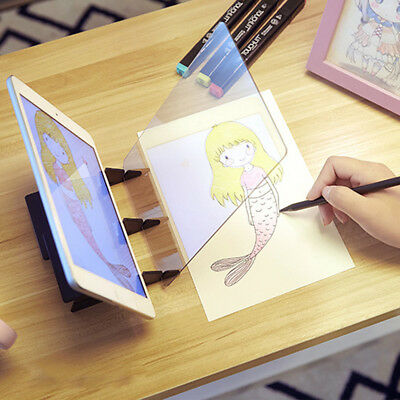 Zero-based Painting Anime Sketch Mould Tracing Board Panel Copy Pad Kid Toy