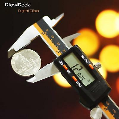 Caliper Digital Stainless Steel Electronic 150mm 6inch LCD Absolute Measuring