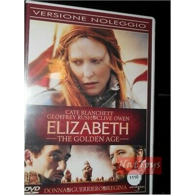 ELIZABETH THE GOLDEN AGE Película DVD original Vídeo
