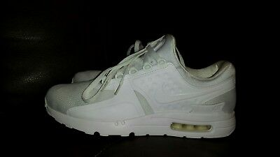 best service f763c be5f7 NIKE AIR MAX Zero Essential White/White/Wolf Grey Men's ...