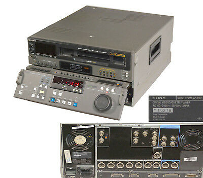 Sony DVW-A510P Digital Betacam pro Digital Dvideoplayer Player 10278 #L200