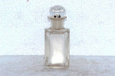 Old Vintage Rare Empty Small Perfume Bottle Decorative Collectible J-68