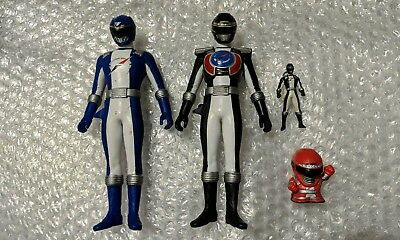 GoGo Sentai Boukenger Vinyl Figure Set of 4 Power Rangers Operation Overdrive