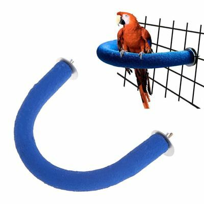 Parrot Pet Perch U Shape Grinding Paws Claw Birds Stand Holder Rack Toys Cage