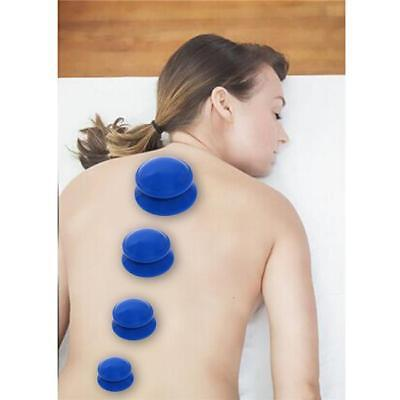 Vacuum Silicone Cup Anti Cellulite Cupping Massage Medical Full Body Therapy W