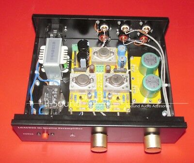 10K:10K permalloy transformer Class A single-ended Pre-amp Based PASS JFET BOZ