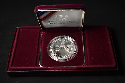 1988-S Olympic Games, Commemorative Proof Silver Dollar