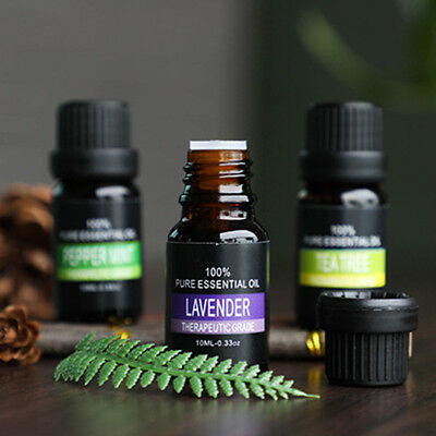 100% Pure Natural Aromatherapy Essential Oil Massage Aroma Body Care Fragrance