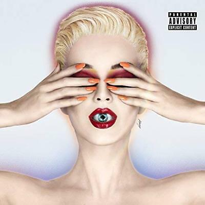 "Katy Perry WITNESS CD 2017 EXPLICIT ""Chained To The Rhythm"", ""Bon Appetit"" NEW"