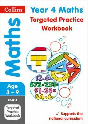Year 4 Maths Targeted Practice Workbook 2019 Tests by Collins KS2 9780008201708