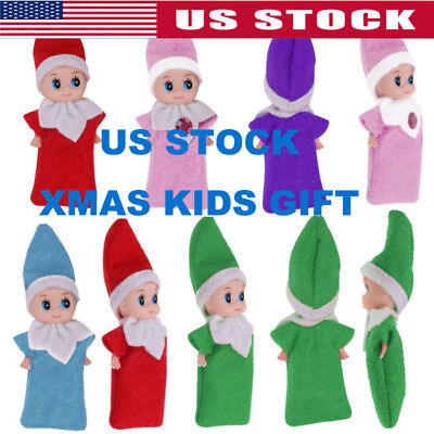 Elf on The Shelf Plush Dolls Girl Kid Figure Christmas Toy Merry Xmas Gift Decor