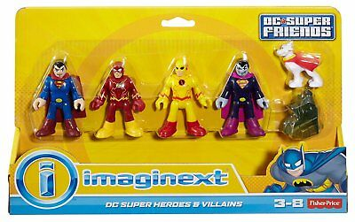 Imaginext DC Super Friends - Heroes and Villains Figure Pack  *BRAND NEW*